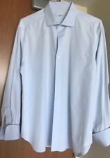 Zilli Men's Extrafine Cotton Dress Shirt Sz 17 Org. $ 950