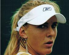Nicole Vaidisova signed 8x10 photo Tennis a Proof