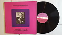 GERHARD HUSCH - Lebendige Vergangenheit (LP) AUSTRIA Baritone PREISER RECORDS