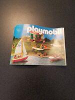 Vintage 1987 Playmobil Mini Catalog Brochure Germany