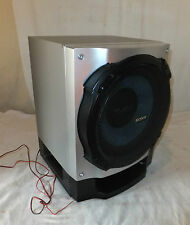 SONY SS-WH590SBG Subwoofer SPEAKER HI-FI Silver SPARES Or REPAIRS 6 Ohm