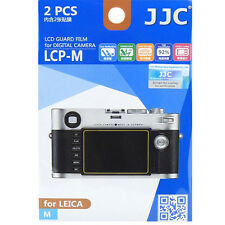 JJC LCP-M LCD Film Camera Screen Display Protector for Leica M  Camera 2 Pack
