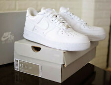 Men's Nike Air Force 1 '07 Triple White Low Sneaker 315122-111 Lace Up Sizes New