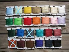 New listing Lot of 23 Cards/Colors of Polypropylene Floating Yarn Fly Tying Material