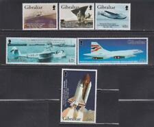 AV36  - AVIATION STAMPS GIBRALTAR 2003 AIRPLANES  AVIATORS SPACE SHUTTLES MNH