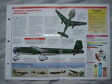 Aircraft of the World Card 33 , Group 9 - Junkers Ju 287