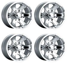 Pacer 187P WARRIOR 187P-5885 Set-4 Rims 15X8 -19mm OFFSET 5X139.7 Polished