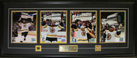 2011 Boston Bruins Stanley Cup 4 Photograph NHL Hockey Collector Frame