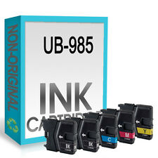 5 Ink Cartridge Replace For LC985 DCP-J125 DCP-J140W DCP-J315W DCP-J515W