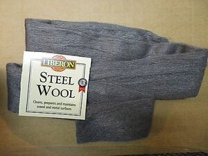 NEW Top Quality Liberon Steel Wire Wool Grade 0000 Various Lengths Available