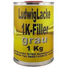 1K Filler 1x 1 kg GRAU  Grundierung für Autolack Lackierer   FreiHaus