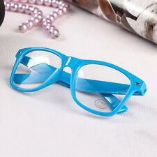 Kids Square Glossy Frame Clear Lens Fashion Glasses  Boys Girls