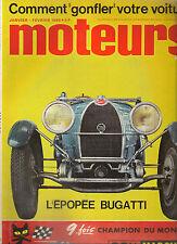 MOTEURS 47 1965 RALLYE MONTE CARLO MASERATI QUATTROPORTE GP AFRIQUE SUD NSU SPYD