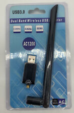 AC1200 USB 3.0 Wireless WiFi Network Receiver Adapter 5GHz Dual Band Dongle UK