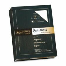 "Southworth 100% Cotton Business Paper - For Laser Print - Letter - 8.50"" X 11"" -"