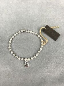 NEW Uno de 50 Emotions Silver Bracelet Plated Size Medium PUL1829MTL0000M - NWT