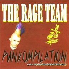THE RAGE TEAM Punkompilation CD NEW psychobilly punk Nekromantix Madheads etc