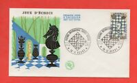 FDC 1966 - Festival International Europe Echecs - Jeux d'échecs  (701)
