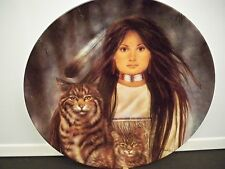 "COLLECTOR PLATE BRADFORD EXCHANGE SOUL MYSTIC GAAURDIANS ""COMPANION SPIRITS"""