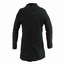 Halloween Gift Thick Padded Black Jacket Medieval Gambeson COSTUMES DRESS SCA