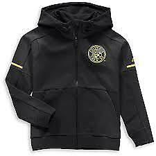 Adidas MLS Columbus Crew Travel Jacket Black/Yellow