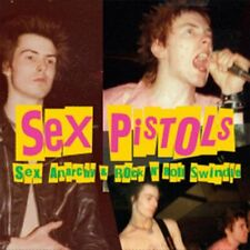 SEX PISTOLS - SEX ANARCHY & ROCK N' ROLL SWINDLE - LIMITED ED. VINYL LP - UK