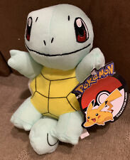 Genuine Pokemon Squirtle Plush - 23cm Long Plush Soft Toy Doll - BNWT