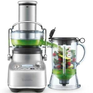 Breville BJB815BSS 3X Bluicer Pro, Blender & Juicer in one, Brushed Stainless