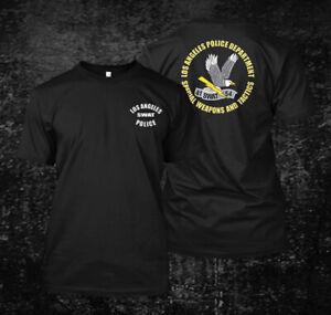 LAPD Los Angeles SWAT Police  - Custom Men's T-Shirt Tee