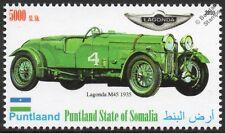 1935 LAGONDA M45 Le Mans Race Car Automobile Stamp