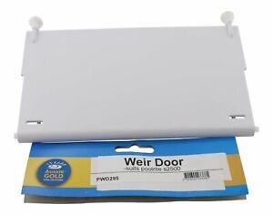 Poolrite S2500 MKII Weir Flap Skimmer Door - High Quality Aussie Gold Brand