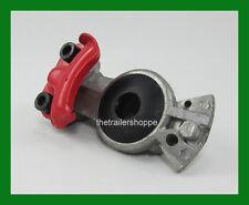 VelVac Glad Hand Gladhand Air Brake Red Emergency Die Cast Aluminum