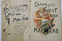 MAC-NAB Chansons du Chat Noir. Nouvelles chansons du Chat Noir