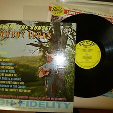 COUNTRY 33 RPM LP RECORD - COWBOY COPAS - STARDAY SLP 212