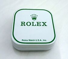 1977 Vintage Rolex Watch Part Tin Box Display Dial Container USA
