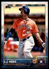 2015 Topps Series 2 L.J. Hoes #365 Houston Astros