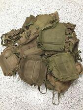 Vintage Us Military M17 Gas Mask Carrier Bag, Army, Marines, Shoulder Bag