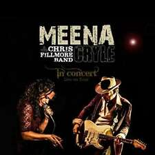 Cryle Meena & Chris Fillmore B - In Concert NEW CD