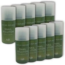 [NATURE REPUBLIC] Snail Solution Skin Booster + Emulsion 6ml x 5set (10pcs) New