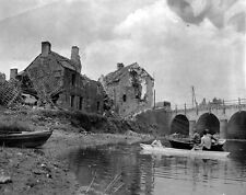 8x6 Gloss Photo ww5AB Normandy English Channel Saint From Ond 1944 5