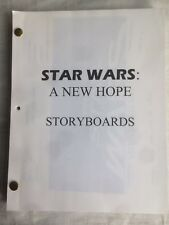 Star Wars New Hope Storyboards. Shoot and Spaceships pages