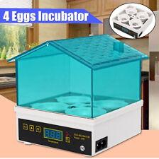 4 Digital Egg Incubator Temperature Control Automatic Turning/Chicken  AU