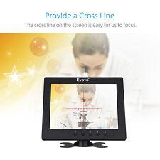 "8"" HD TFT LCD Monitor Display AV BNC VGA HDMI Ypbpr input for home security PC"