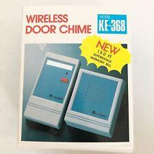 NEW Wireless Door Chime Harmony Bell KE-368 Easy To Install 150 FT Range
