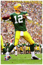 Poster Perfection 24x36 Elite Collection: AARON RODGERS Lambeau Packers Drive