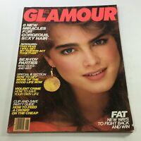 VTG Glamour Magazine: January 1982 - Brook Shields Newsstand/No Label