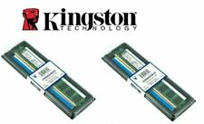 2X BANCO MEMORIA RAM PC COMPUTER DESKTOP DDR2 2GB KINGSTON KVR800D2N6/2G.