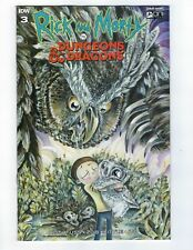 RICK & MORTY VS DUNGEONS & DRAGONS # 3 Variant 1:10 Cover NM