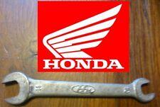 rare CLE moto HONDA 10 14 vintage collector trousse à outils 100% ORIGINAL key