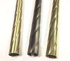Stick Curtain Brass Pure Twisted From 30mm Pole And
